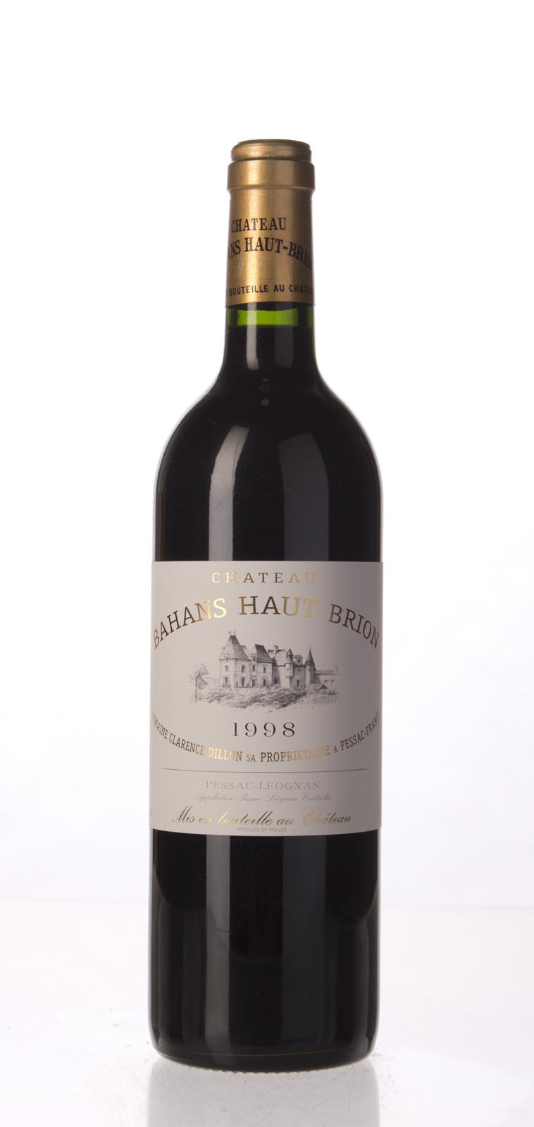 Bahans Haut Brion 1998, 750mL (WS92) from The BPW - Merchants of rare and fine wines.