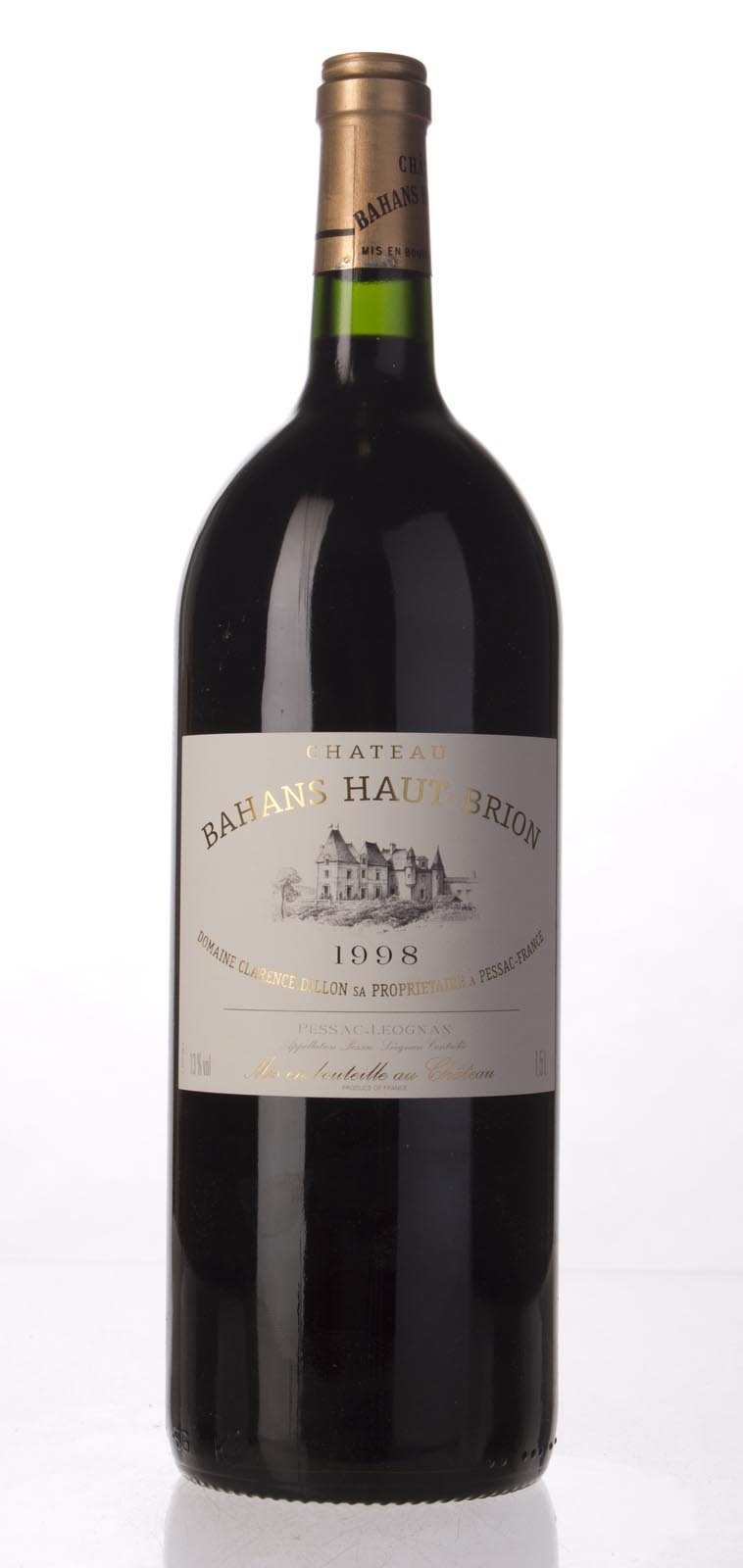Bahans Haut Brion 1998, 1.5L (WS92) from The BPW - Merchants of rare and fine wines.