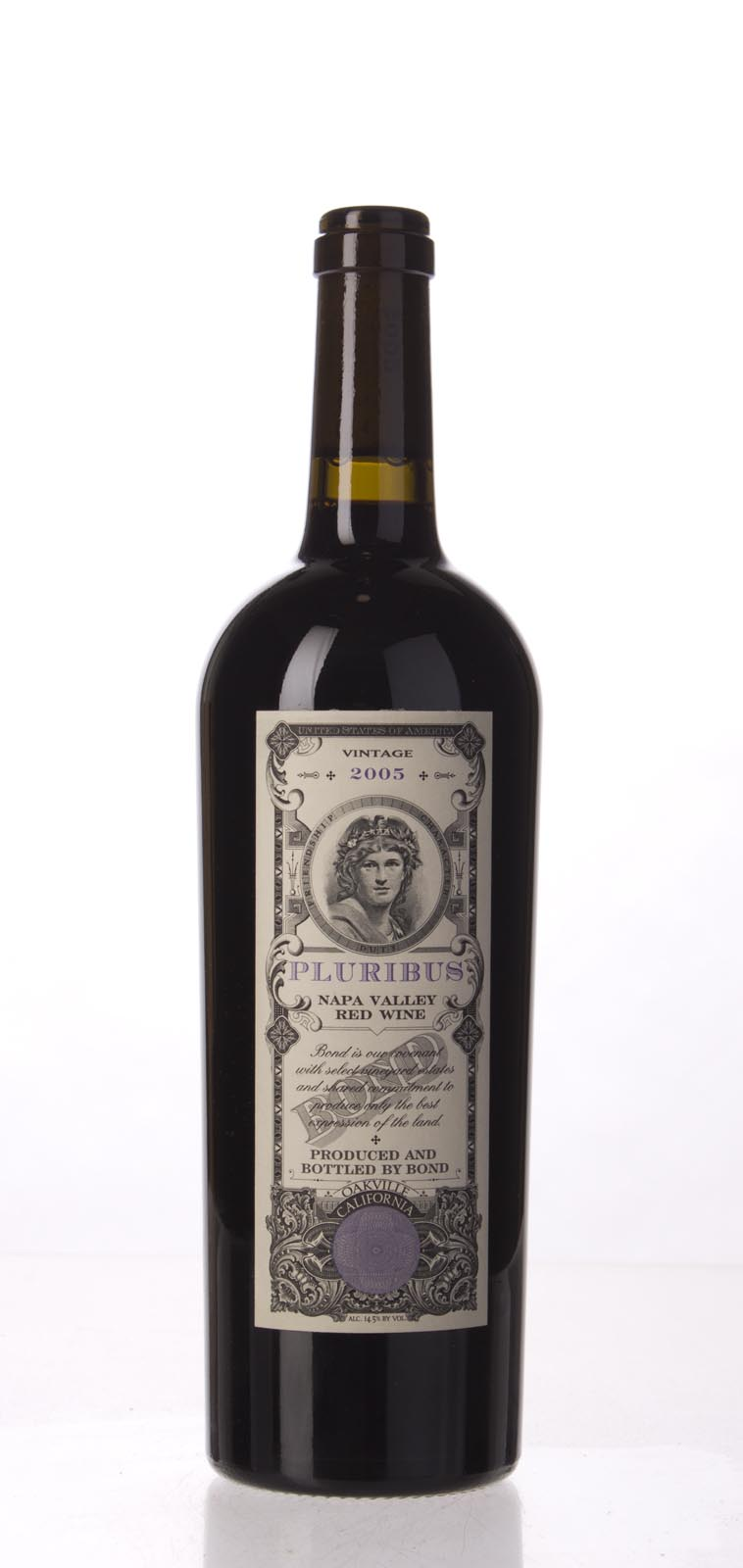 Bond Pluribus 2005,  (WA96, ST95+) from The BPW - Merchants of rare and fine wines.