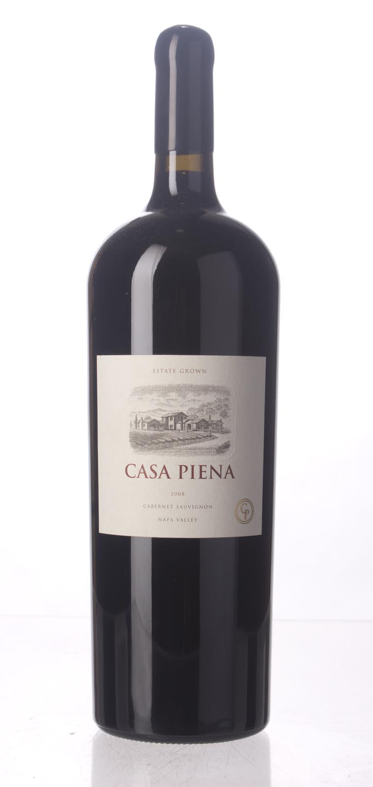 Casa Piena Cabernet Sauvignon Napa Valley 2008, 1.5L (WA95, WS94) from The BPW - Merchants of rare and fine wines.