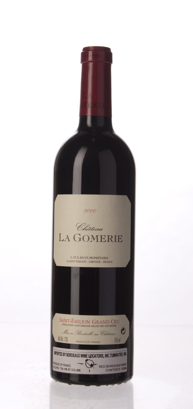 La Gomerie 2000, 750mL (WA96) from The BPW - Merchants of rare and fine wines.