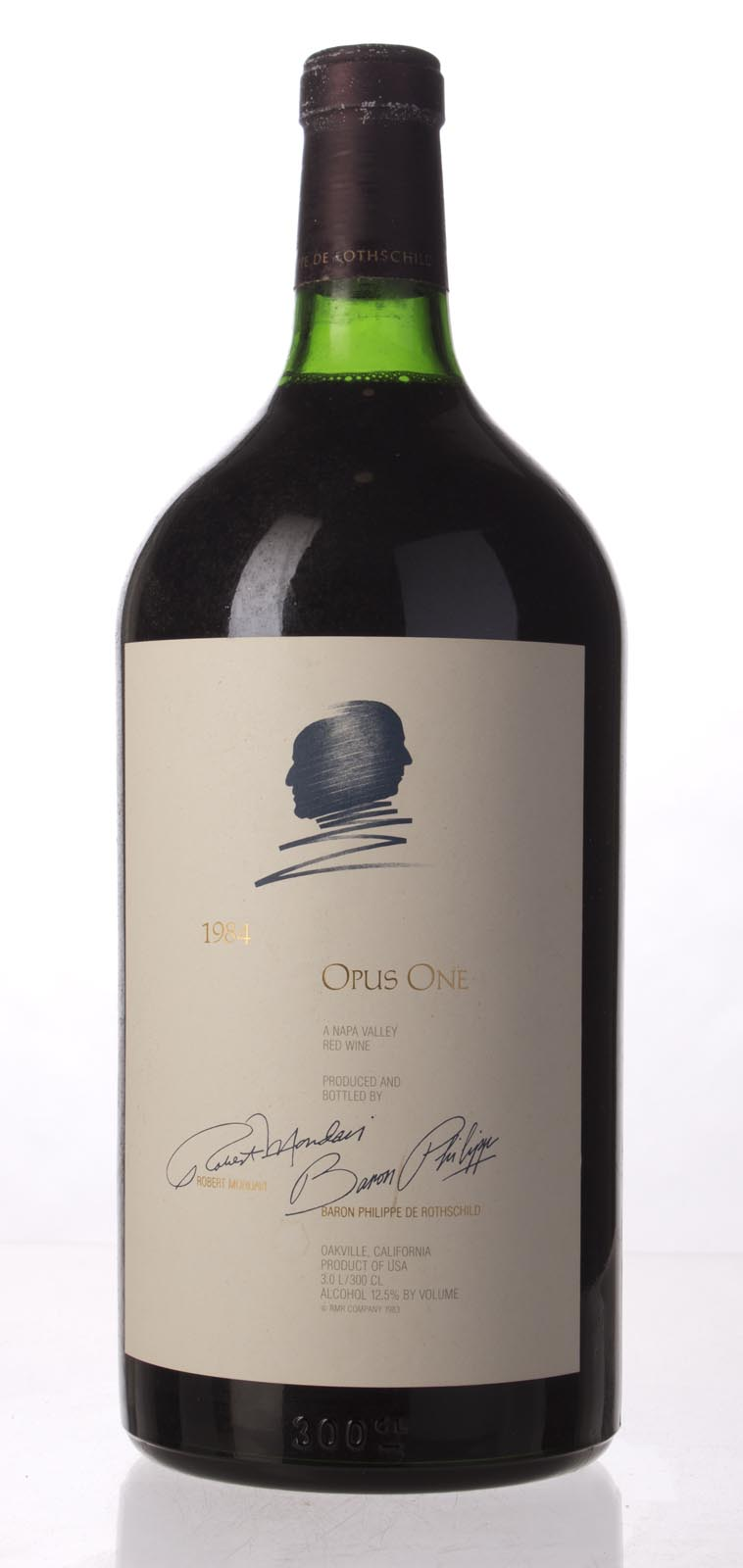 Opus One Proprietary Red Wine 1984, 3L (WS94) from The BPW - Merchants of rare and fine wines.