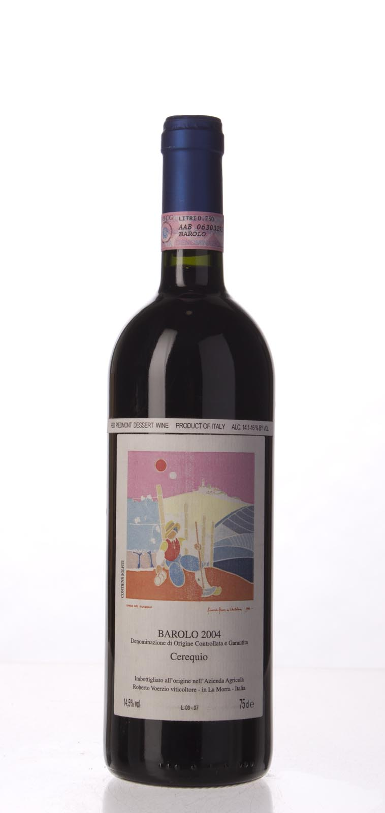 Roberto Voerzio Barolo Cerequio 2004, 750mL (WA97) from The BPW - Merchants of rare and fine wines.