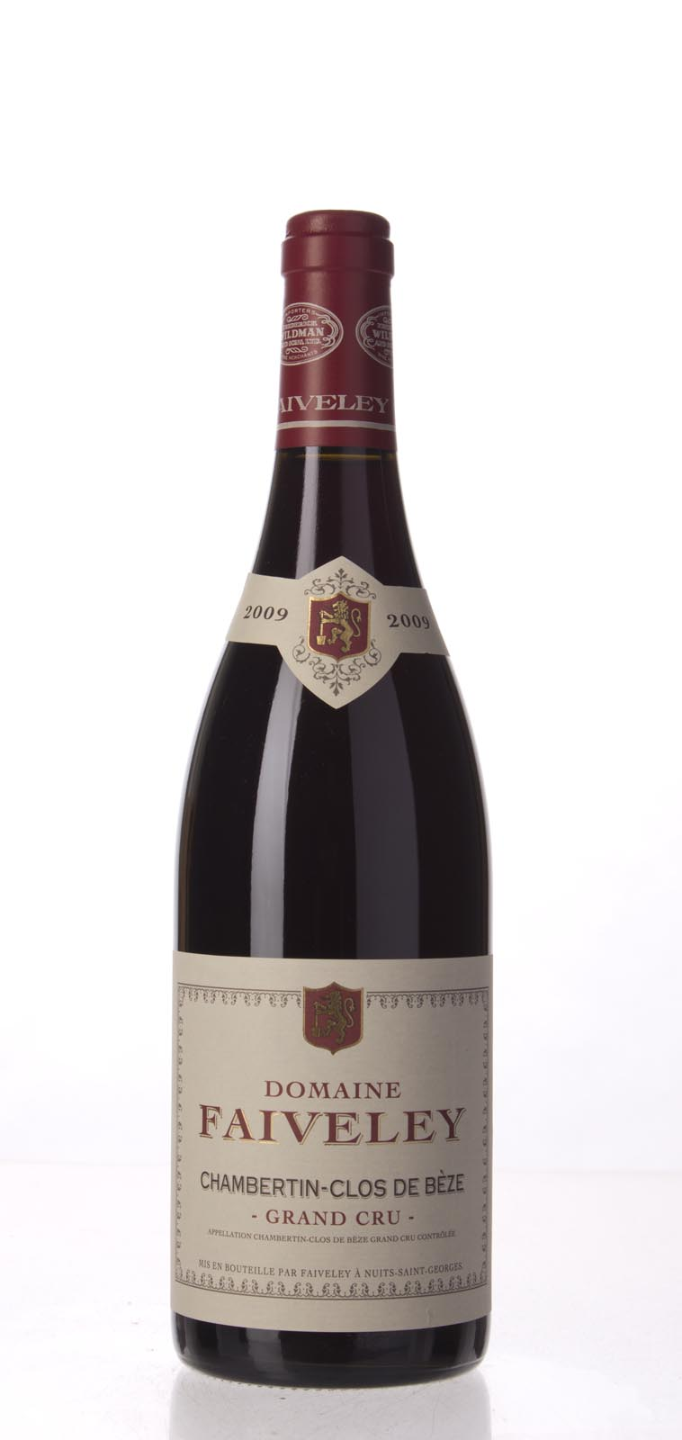Faiveley Chambertin Clos de Beze 2009, 750mL (WS96) from The BPW - Merchants of rare and fine wines.
