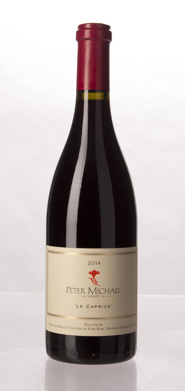 Peter Michael Winery Pinot Noir Le Caprice 2014, 750mL (WA92) from The BPW - Merchants of rare and fine wines.