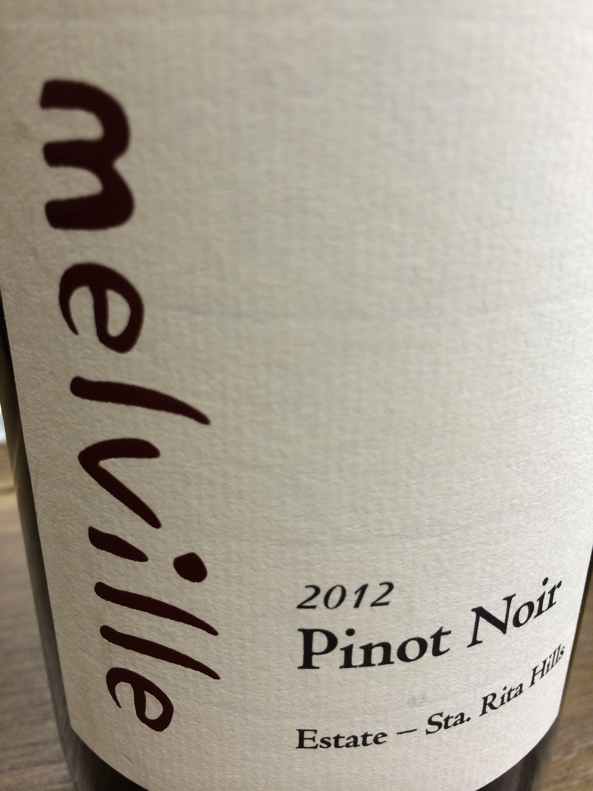 Melville Pinot Noir Estate 2012,  (AG94, ST92) from The BPW - Merchants of rare and fine wines.