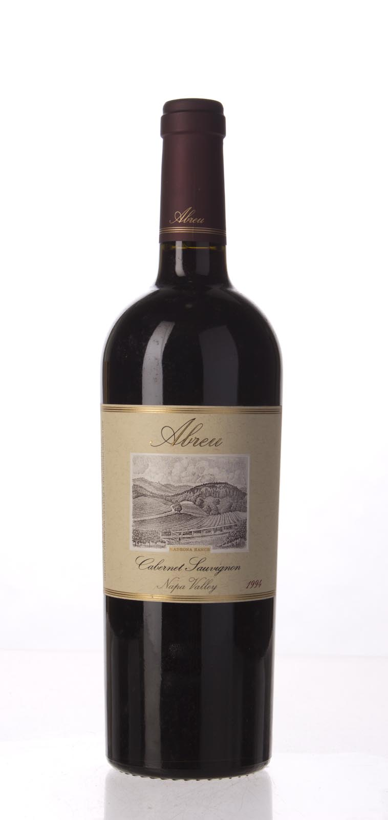 Abreu Cabernet Sauvignon Madrona Ranch 1994, 750mL (WA94, WS96) from The BPW - Merchants of rare and fine wines.