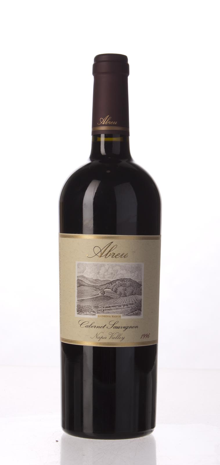 Abreu Cabernet Sauvignon Madrona Ranch 1996, 750mL (WA98) from The BPW - Merchants of rare and fine wines.