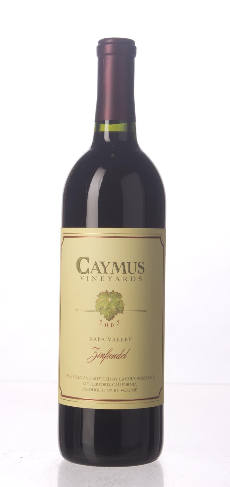 Caymus Zinfandel Napa Valley 2005, 750mL () from The BPW - Merchants of rare and fine wines.