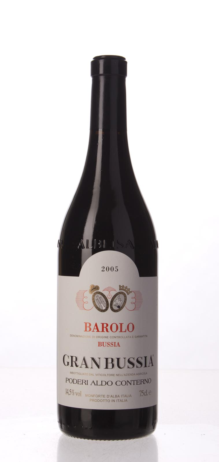 Aldo Conterno Barolo Riserva Granbussia 2005,  (JS100) from The BPW - Merchants of rare and fine wines.