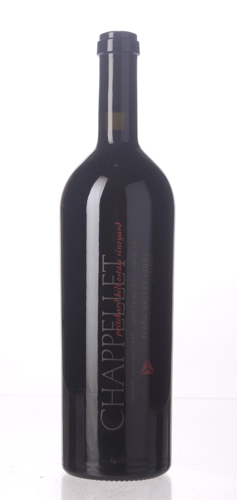 Chappellet Cabernet Sauvignon Pritchard Hill 2001, 750mL (WA92, WS92) from The BPW - Merchants of rare and fine wines.
