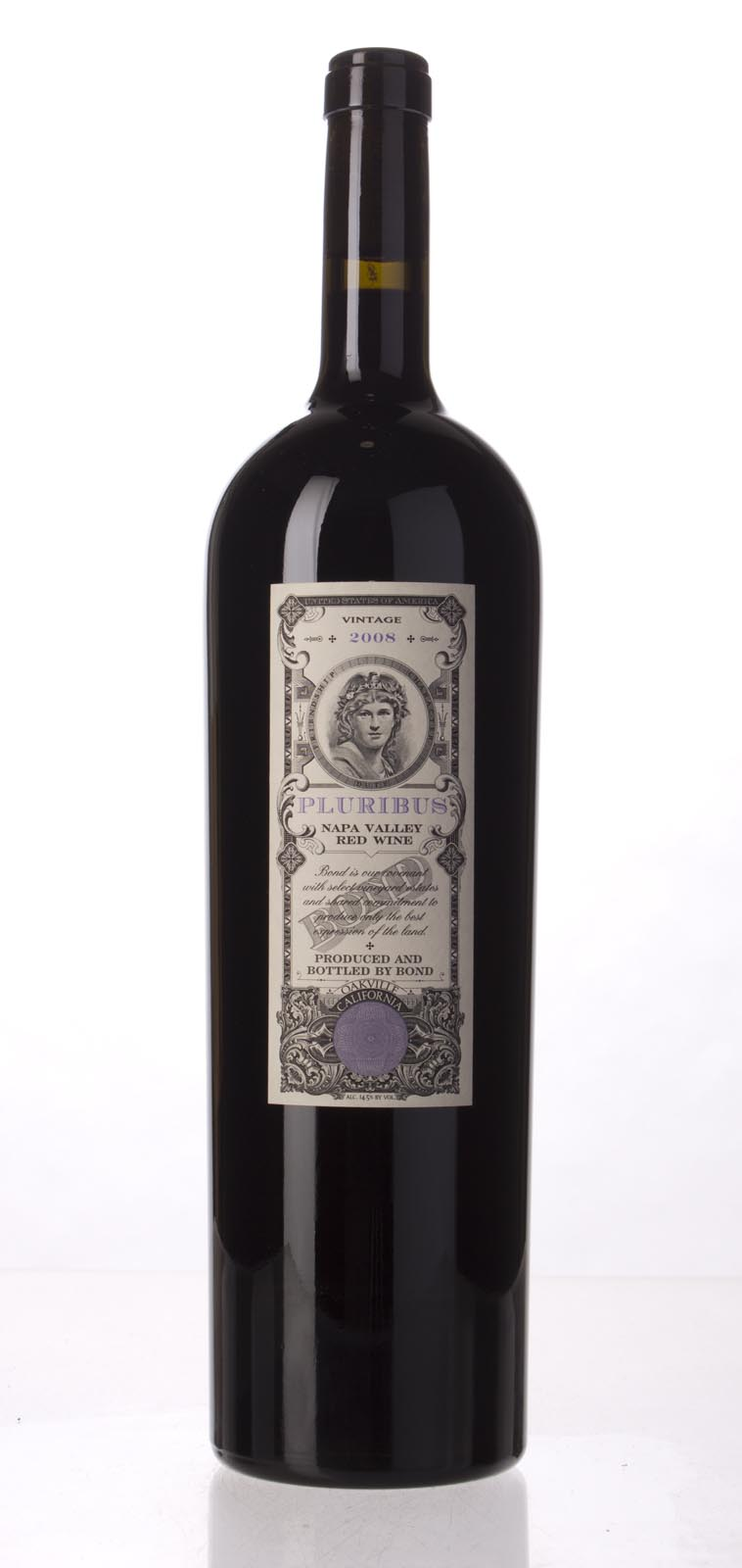 Bond Pluribus 2008, 1.5L (WA95, ST94+, WS93) from The BPW - Merchants of rare and fine wines.