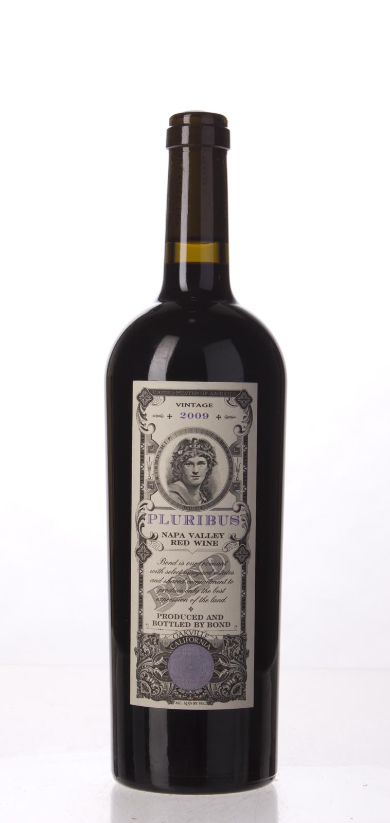 Bond Pluribus 2009, 750mL (WA97, ST96+, WS96) from The BPW - Merchants of rare and fine wines.