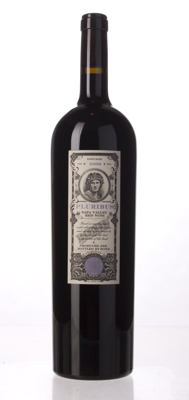 Bond Pluribus 2009, 1.5L (WA97, ST96+, WS96) from The BPW - Merchants of rare and fine wines.