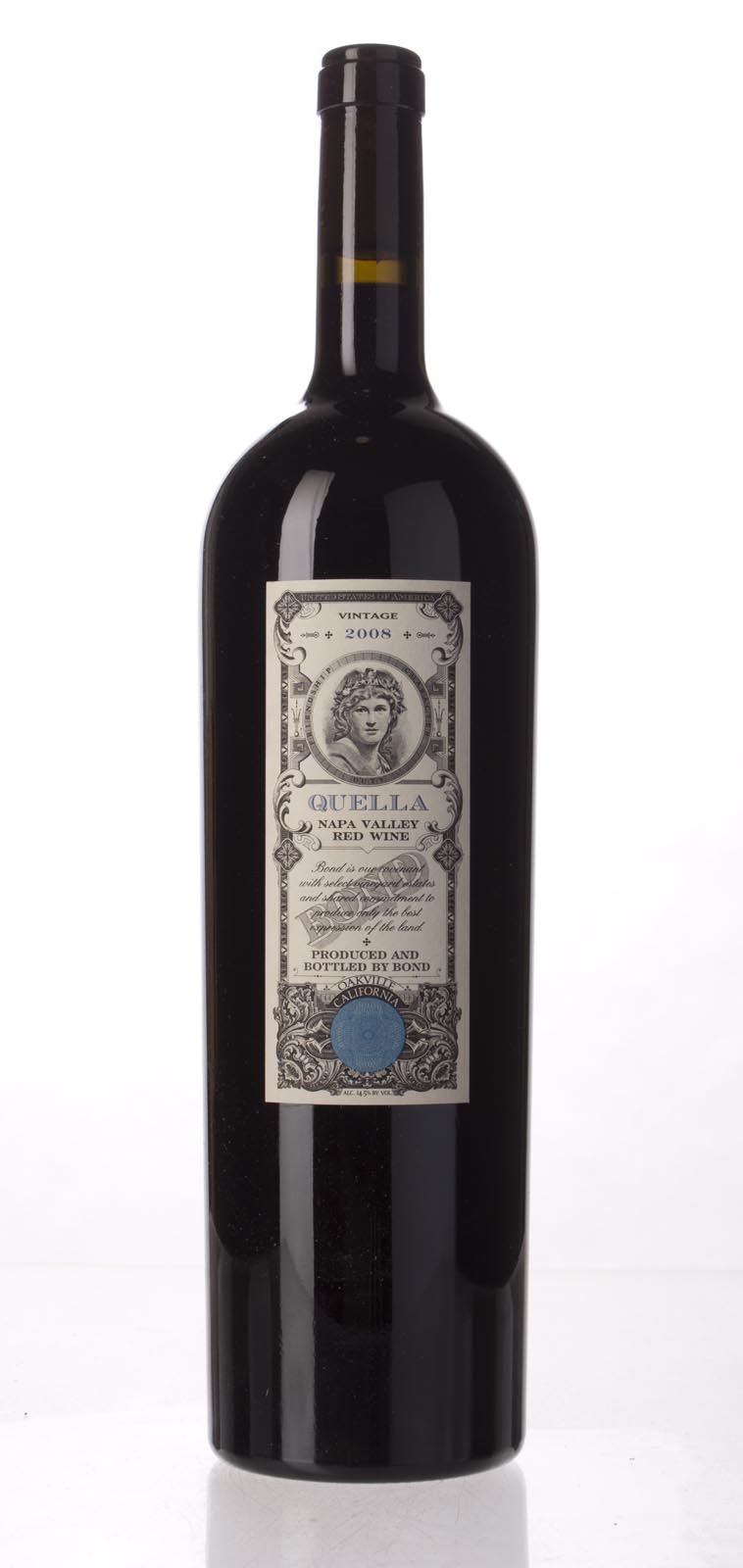 Bond Quella 2008, 1.5L (JS93, WA93, WS94) from The BPW - Merchants of rare and fine wines.