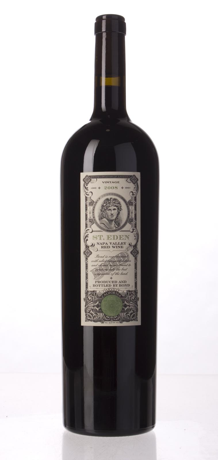 Bond St. Eden 2008, 1.5L (JS92, WA94, ST93+, WS93) from The BPW - Merchants of rare and fine wines.