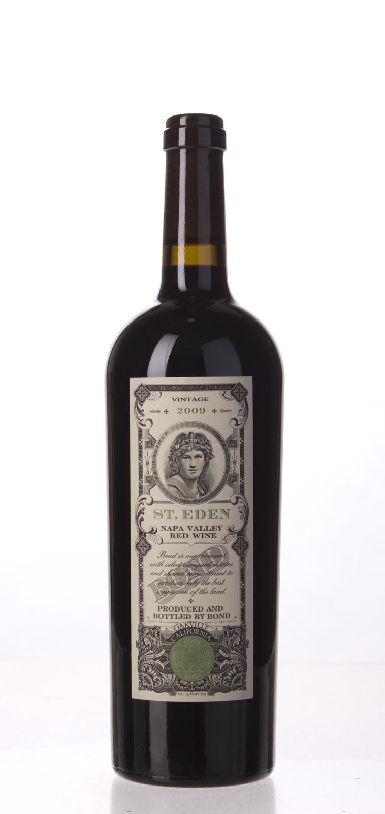 Bond St. Eden 2009, 750mL (WA97, ST95, WS95) from The BPW - Merchants of rare and fine wines.