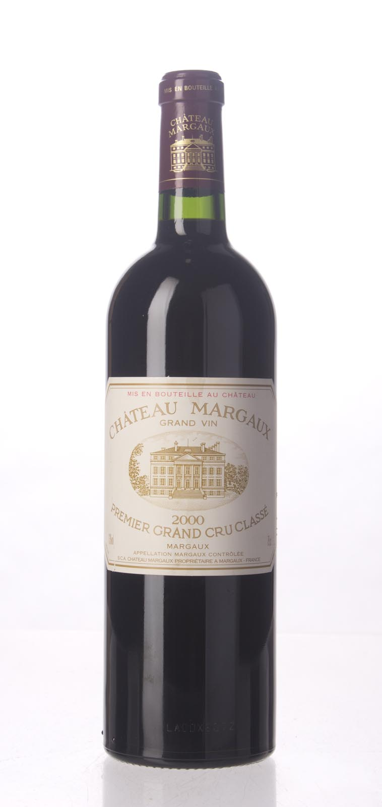 Chateau Margaux 2000, 750mL (WA100, ST98, WS100) from The BPW - Merchants of rare and fine wines.