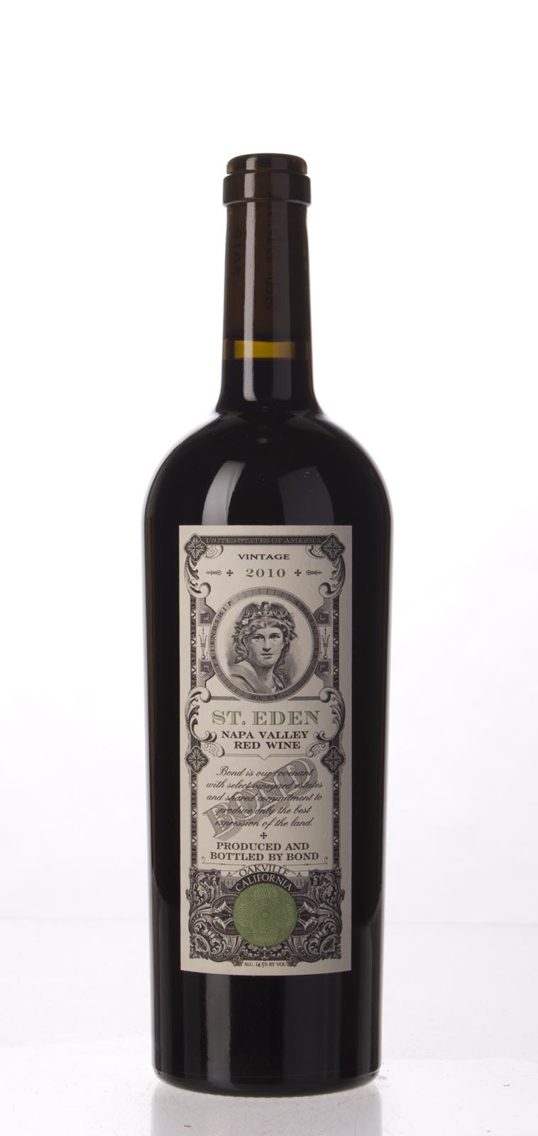 Bond St. Eden 2010, 750mL (AG100) from The BPW - Merchants of rare and fine wines.