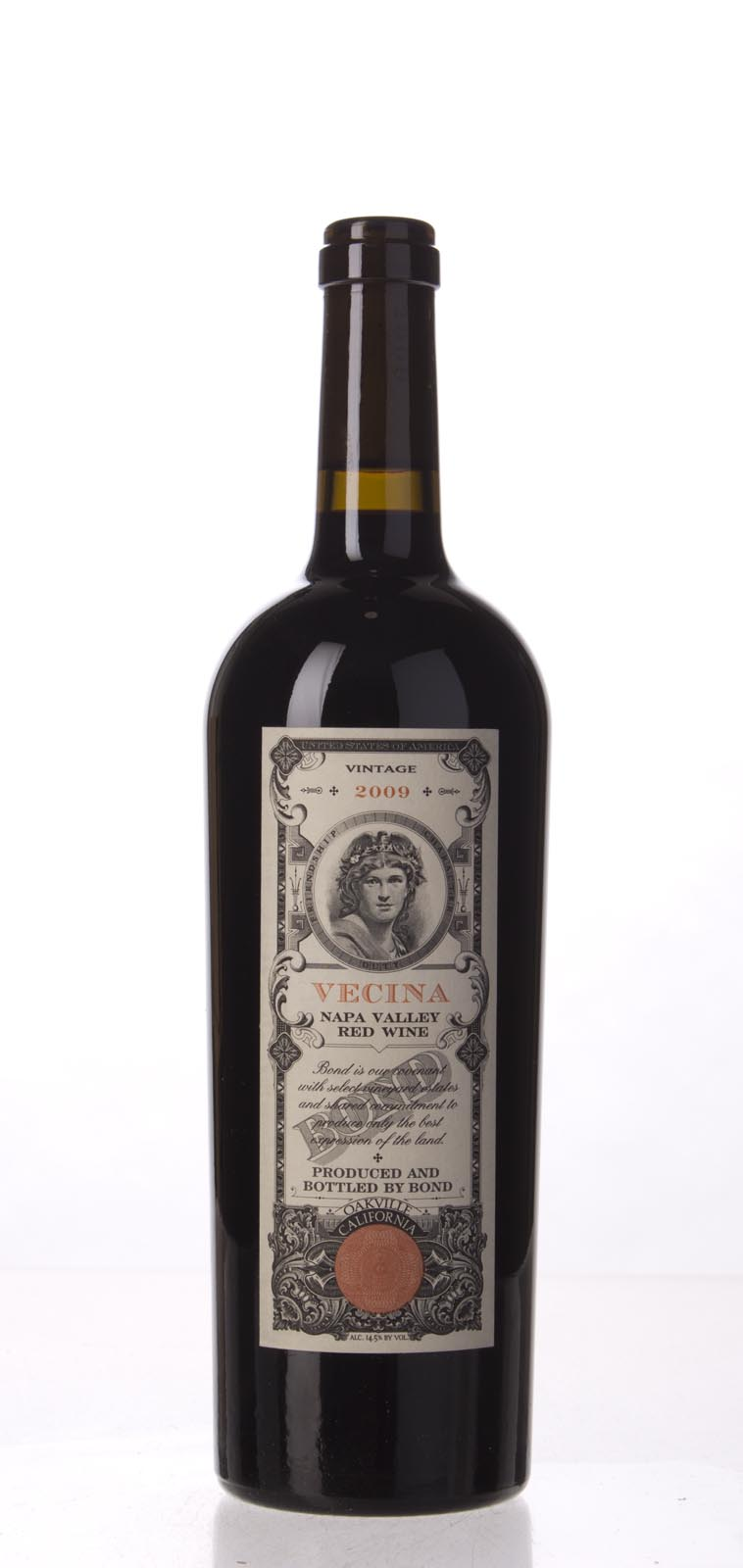 Bond Vecina 2009,  (WA98+, ST96) from The BPW - Merchants of rare and fine wines.