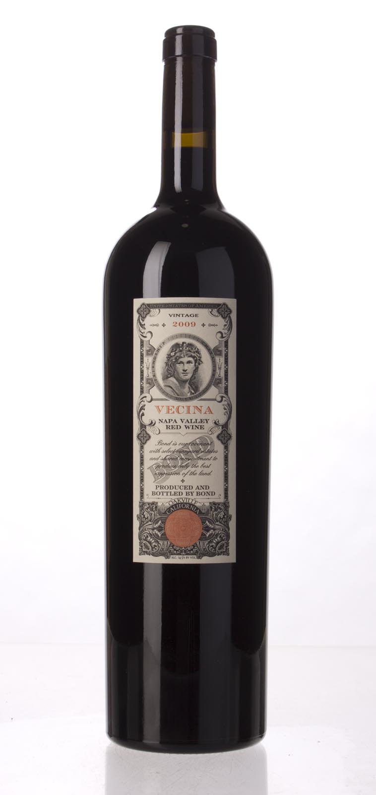 Bond Vecina 2009, 1.5L (WA98+, ST96) from The BPW - Merchants of rare and fine wines.