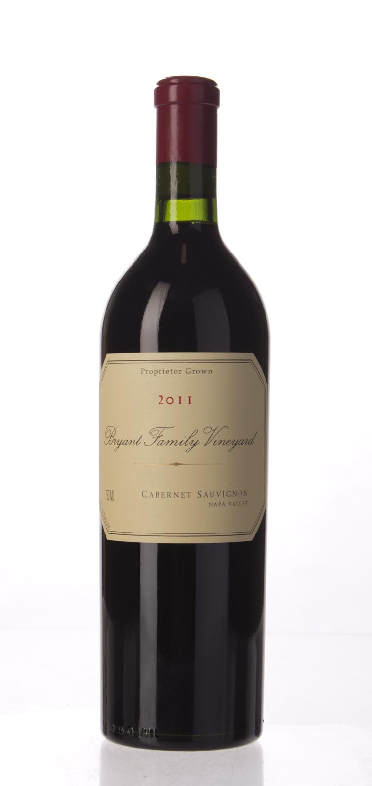 Bryant Family Vineyard Cabernet Sauvignon Pritchard Hill 2011, 750mL (AG95+) from The BPW - Merchants of rare and fine wines.