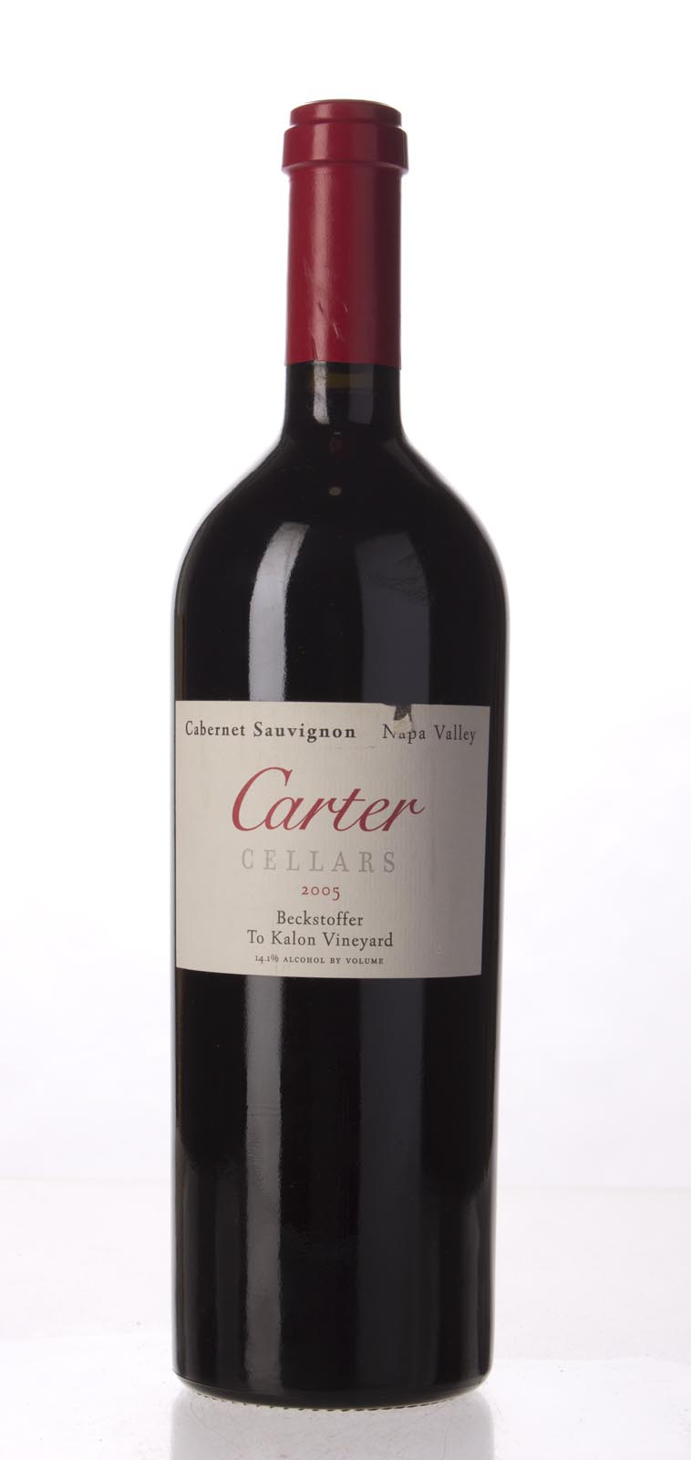 Carter Cabernet Sauvignon Beckstoffer To Kalon Vineyard 2005, 750mL (WS95) from The BPW - Merchants of rare and fine wines.