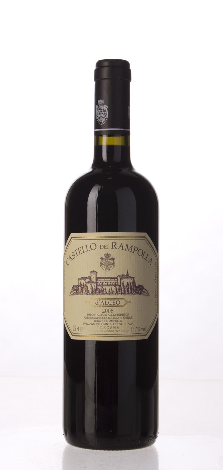 Castello dei Rampolla Vigna d`Alceo 2008, 750mL (JS100) from The BPW - Merchants of rare and fine wines.