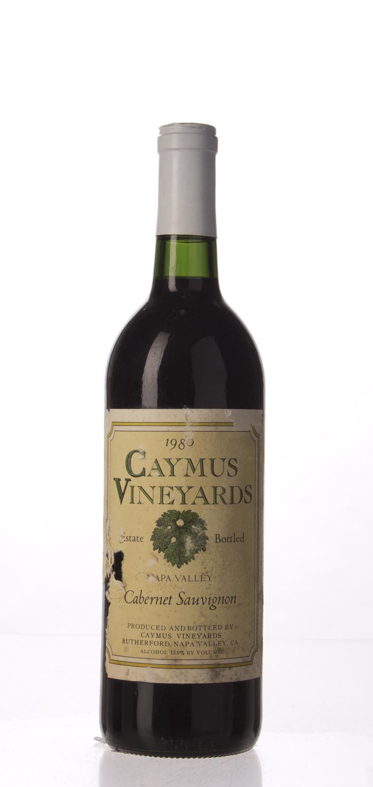 Caymus Cabernet Sauvignon Napa Valley 1980, 750mL (WS94) from The BPW - Merchants of rare and fine wines.