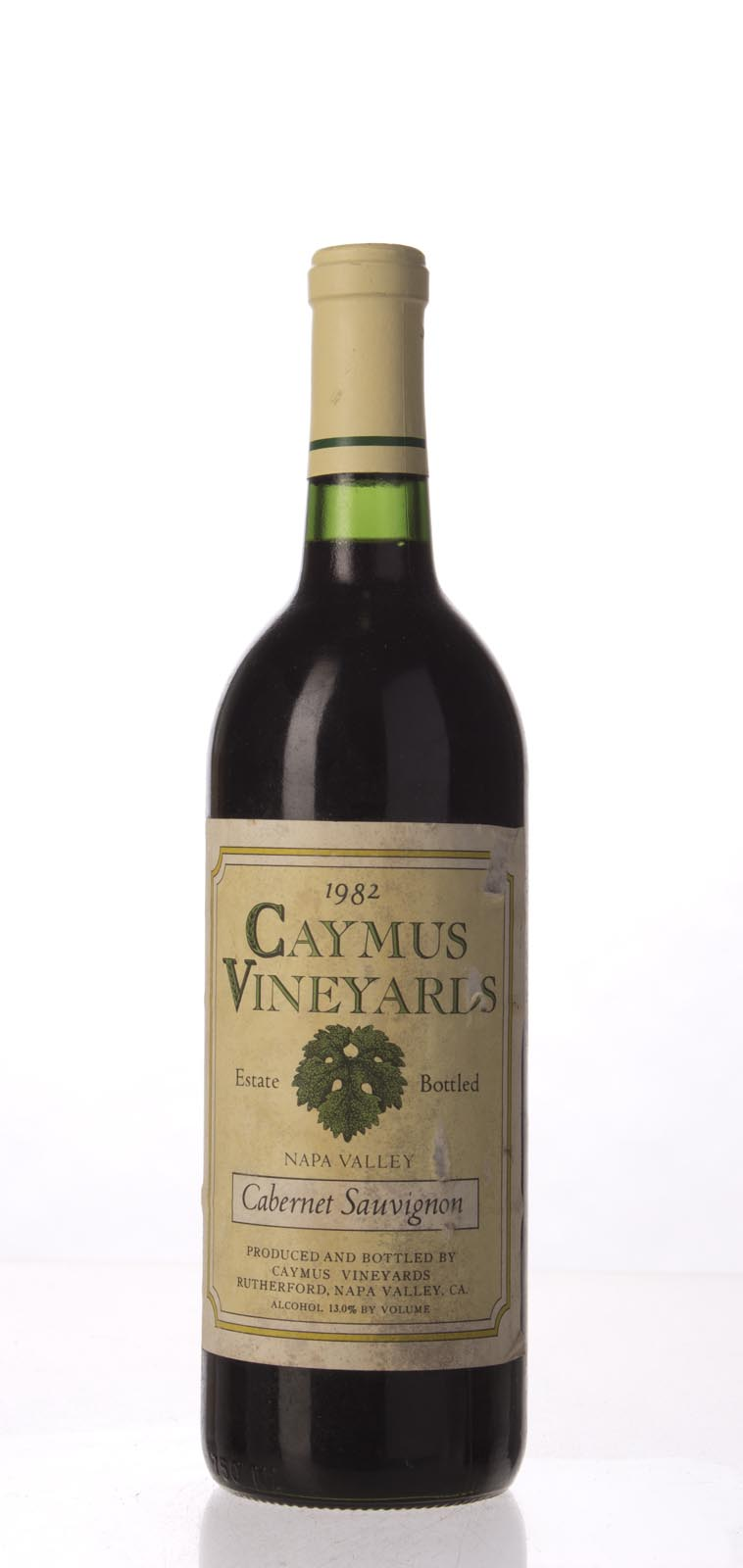 Caymus Cabernet Sauvignon Napa Valley 1982, 750mL (WS94) from The BPW - Merchants of rare and fine wines.