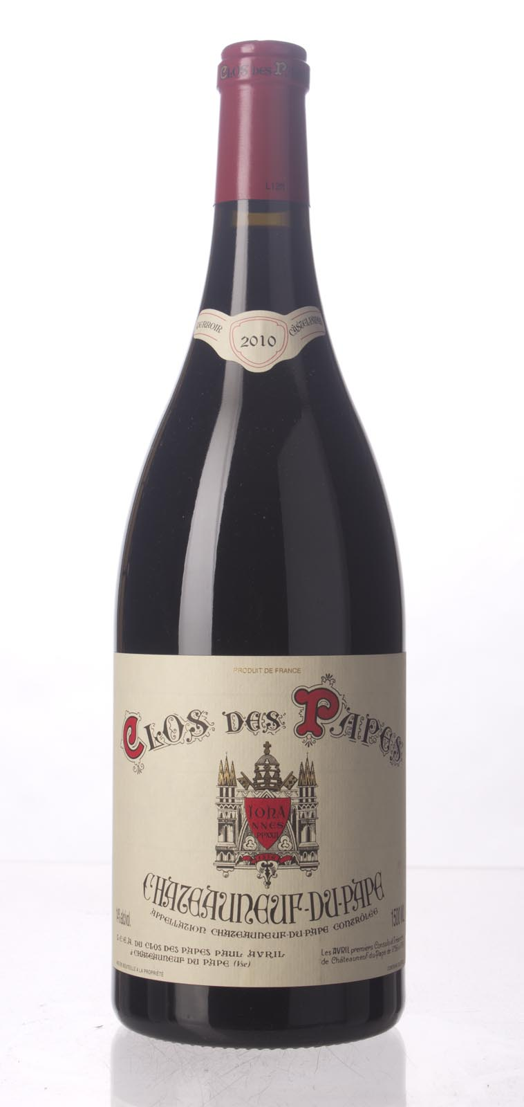 Clos des Papes Chateauneuf du Pape 2010, 1.5L (WA99, ST94-96) from The BPW - Merchants of rare and fine wines.
