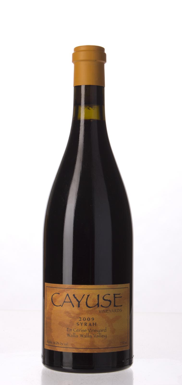 Cayuse Vineyards Syrah En Cerise Vineyard 2009, 750mL (WA96, ST94+, WS95) from The BPW - Merchants of rare and fine wines.