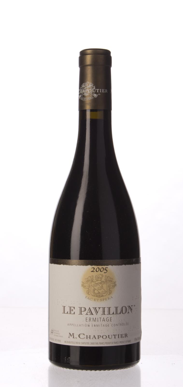 Chapoutier Ermitage le Pavillon 2005, 750mL (WA98, WS96) from The BPW - Merchants of rare and fine wines.