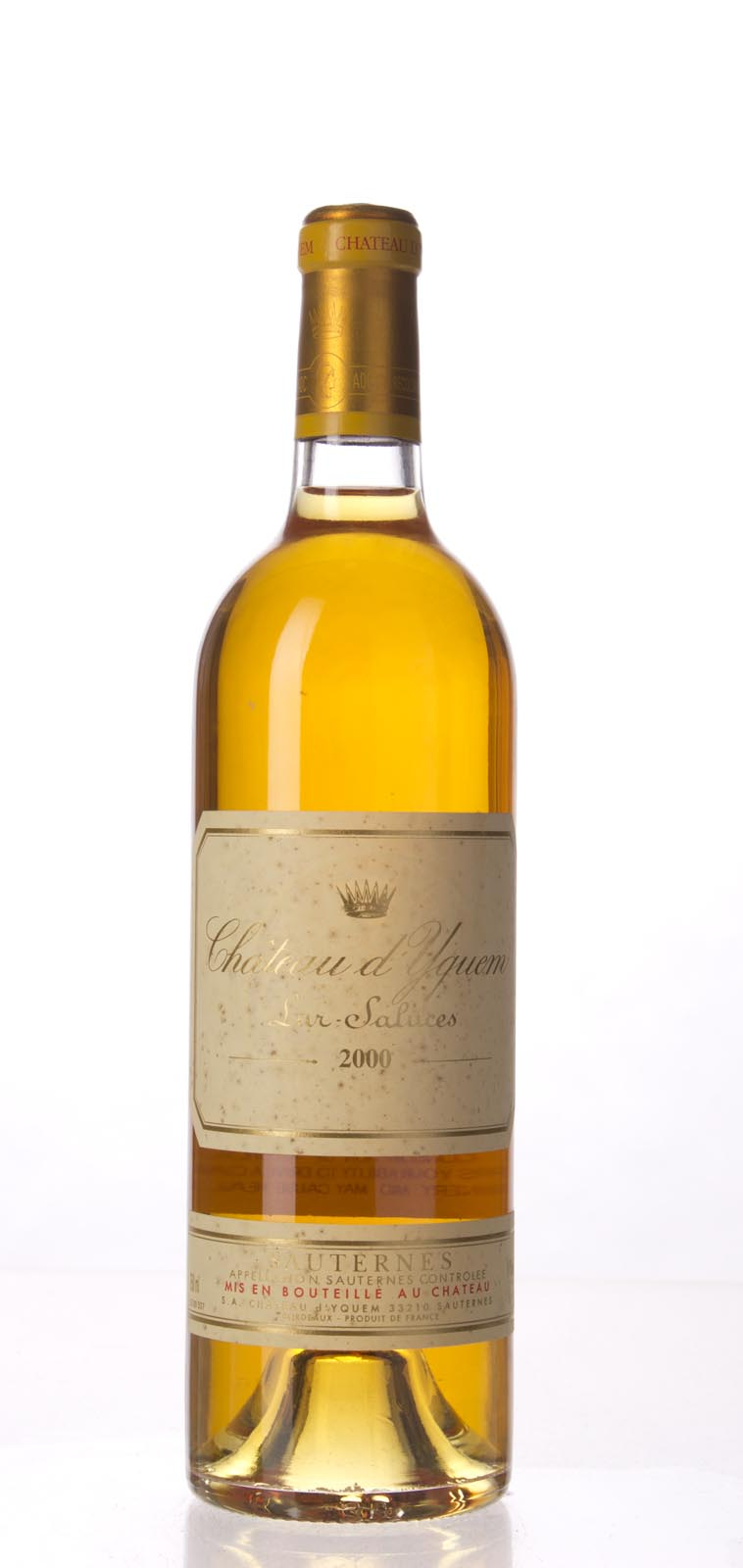 Chateau d`Yquem 2000, 750mL () from The BPW - Merchants of rare and fine wines.