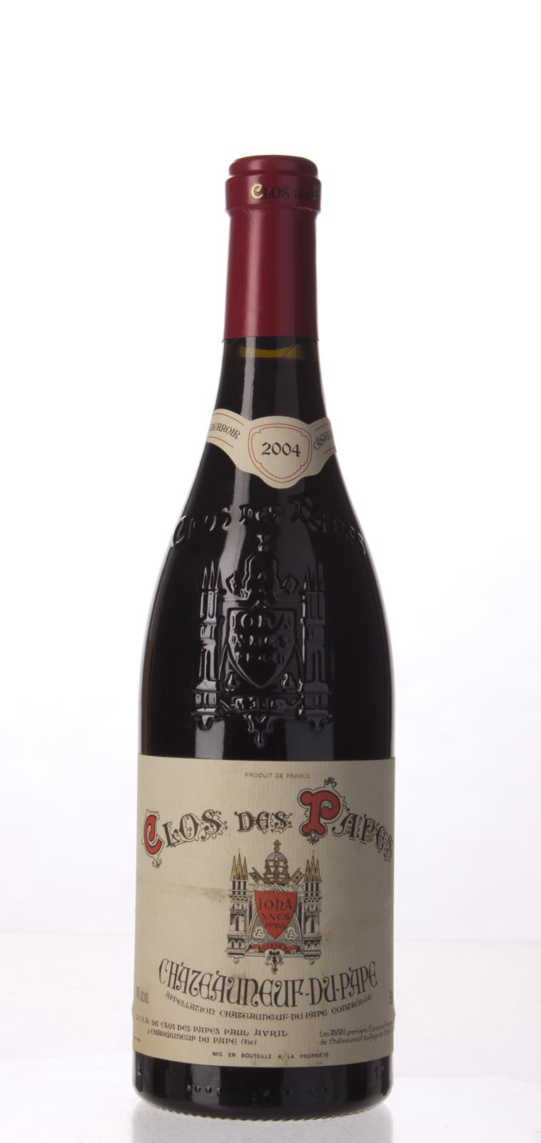 Clos des Papes Chateauneuf du Pape 2004, 750mL (WA95, WS96) from The BPW - Merchants of rare and fine wines.