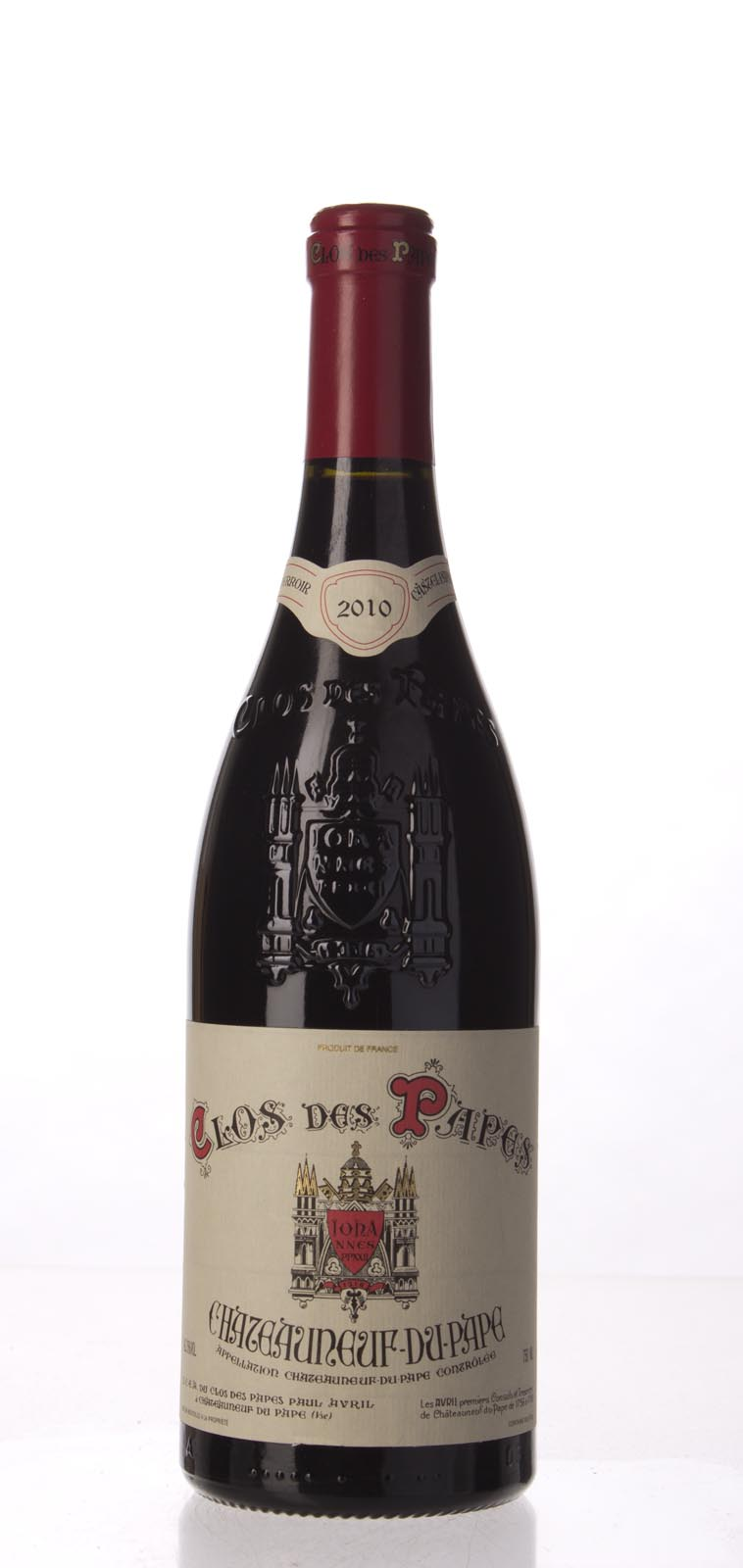 Clos des Papes Chateauneuf du Pape 2010, 750mL (WA99, WS98) from The BPW - Merchants of rare and fine wines.