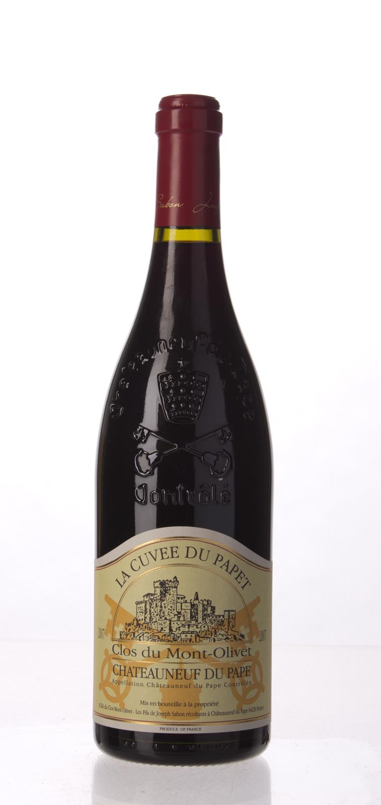 Clos du Mont Olivet Chateauneuf du Pape la Cuvee du Papet 2007, 750mL (WA98+, WS96) from The BPW - Merchants of rare and fine wines.