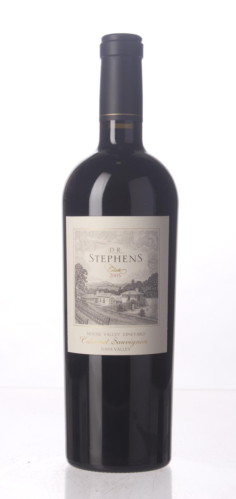 D.R. Stephens Cabernet Sauvignon Moose Valley Vineyard 2005, 750mL (WA91) from The BPW - Merchants of rare and fine wines.