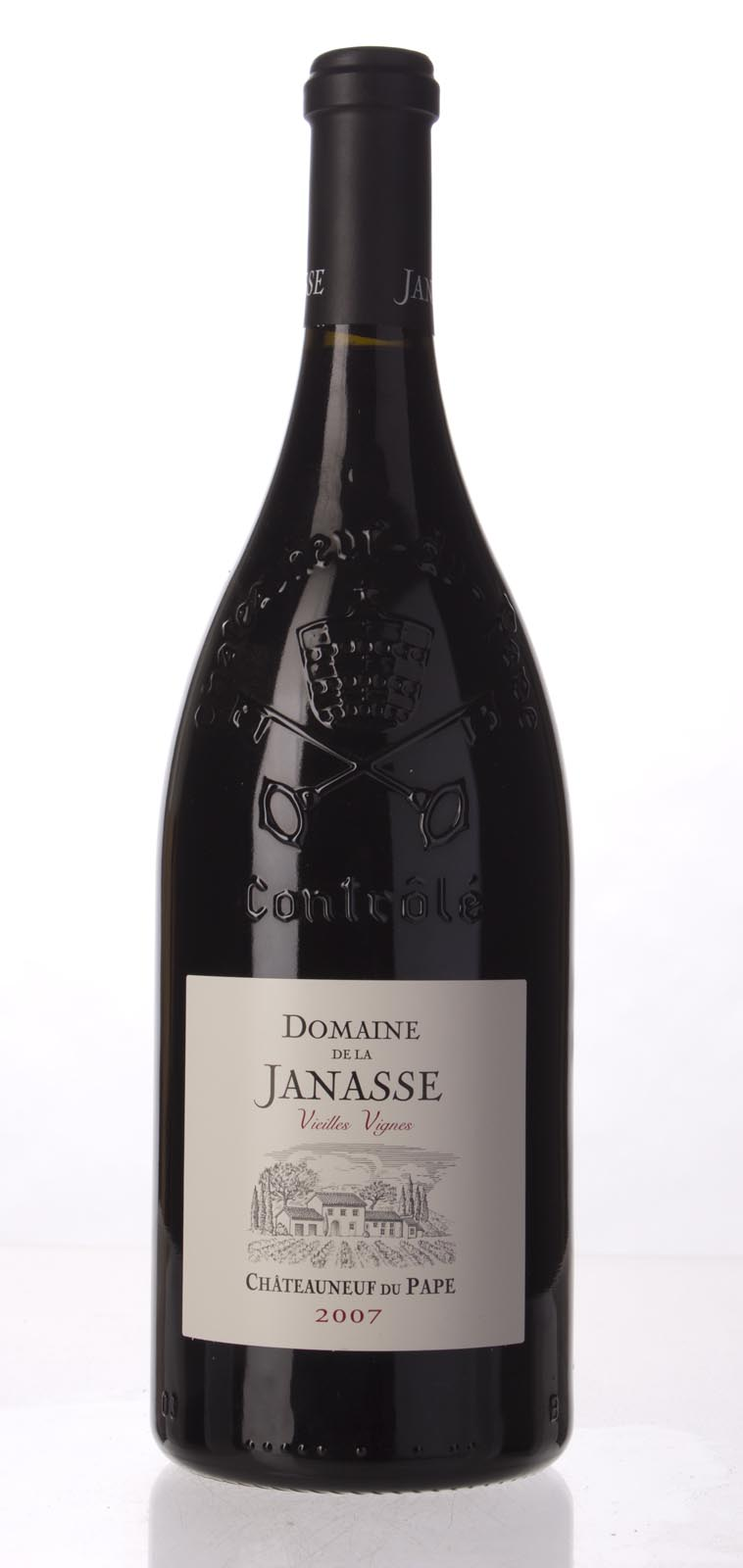 Domaine de la Janasse Chateauneuf du Pape Cuvee Vieilles Vignes 2007, 1.5L (WA100) from The BPW - Merchants of rare and fine wines.