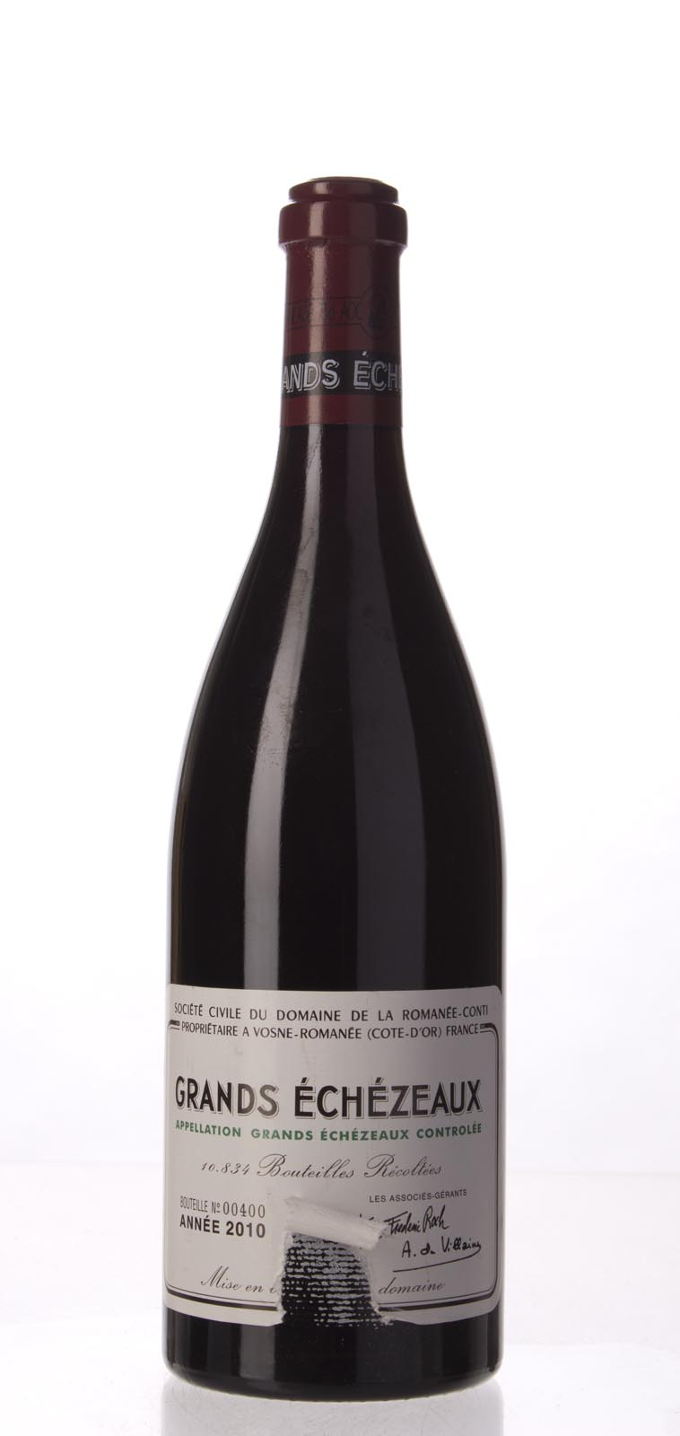 Domaine de La Romanee Conti Grands Echezeaux 2010, 750mL (BH93, WA94-96, ST93) from The BPW - Merchants of rare and fine wines.