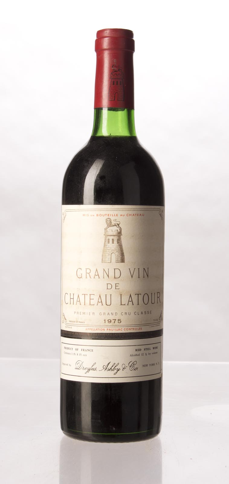 Latour 1975, 750mL (WS93) from The BPW - Merchants of rare and fine wines.