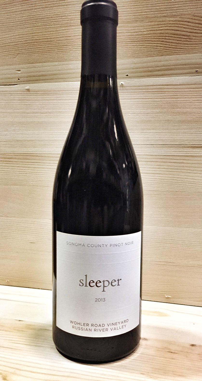 Sleeper Pinot Noir Wohler Vineyard 2013,  () from The BPW - Merchants of rare and fine wines.