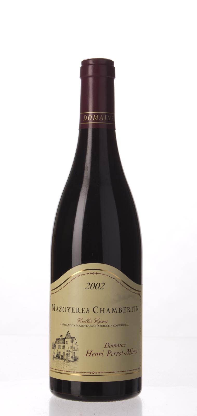 Domaine Perrot Minot Mazoyeres Chambertin Vieilles Vignes 2002,  (WS97) from The BPW - Merchants of rare and fine wines.