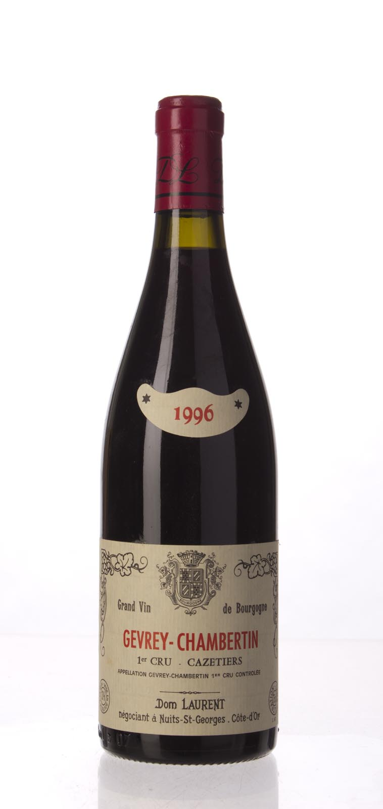 Dominique Laurent Gevrey Chambertin Cazetiers 1996, 750mL (ST91-94) from The BPW - Merchants of rare and fine wines.