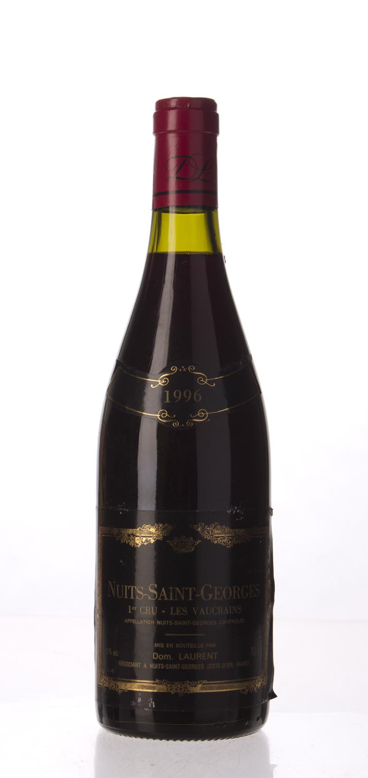 Dominique Laurent Nuits St. Georges les Vaucrains 1996, 750mL (ST91-93) from The BPW - Merchants of rare and fine wines.