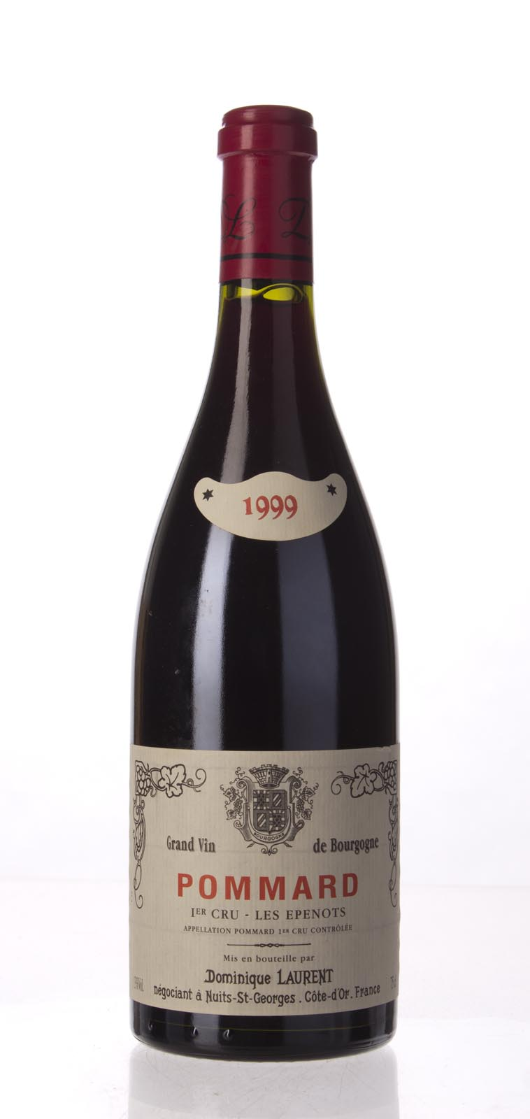 Dominique Laurent Pommard les Epenots 1999, 750mL (ST92-94) from The BPW - Merchants of rare and fine wines.