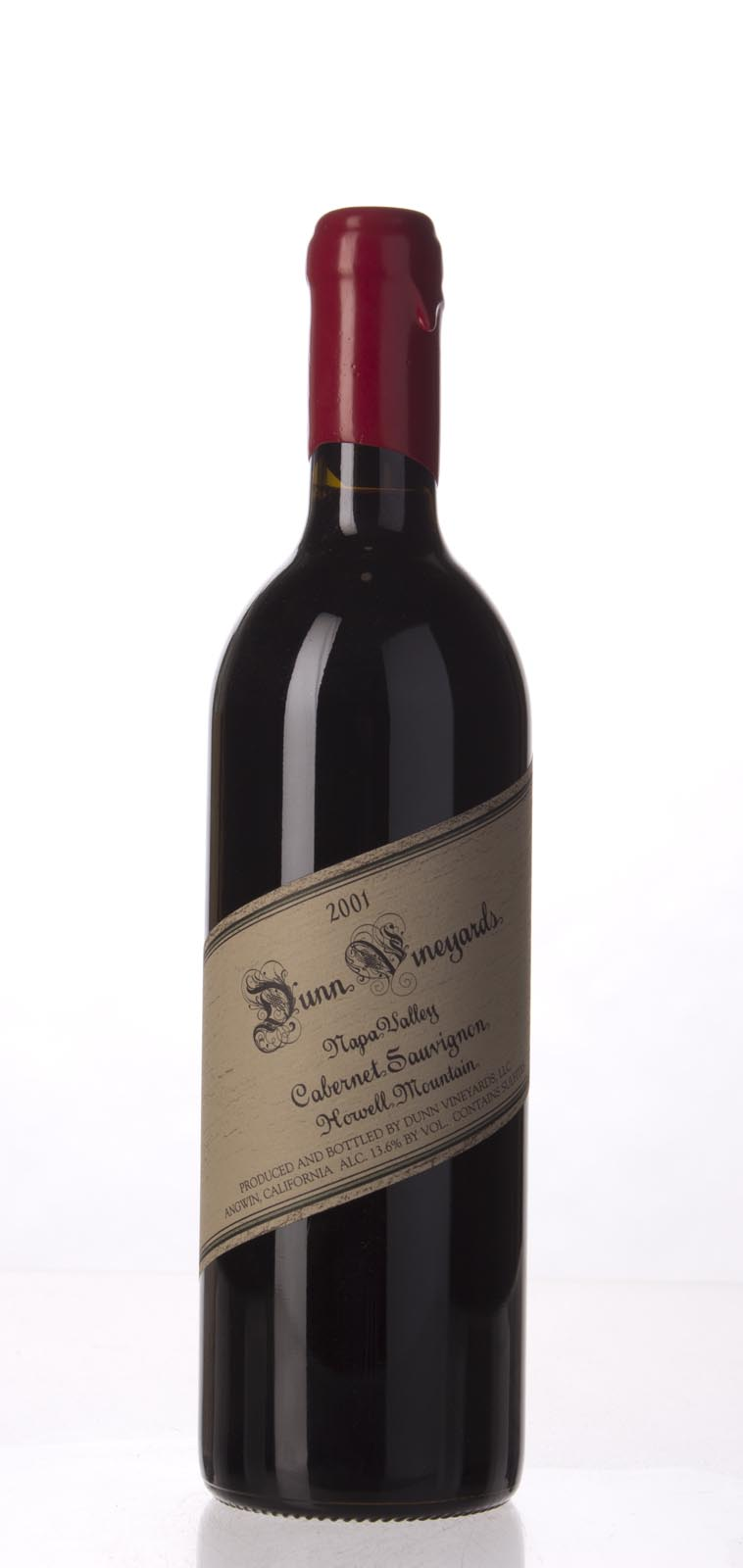 Dunn Cabernet Sauvignon Howell Mountain 2001, 750mL (WA95, ST93) from The BPW - Merchants of rare and fine wines.