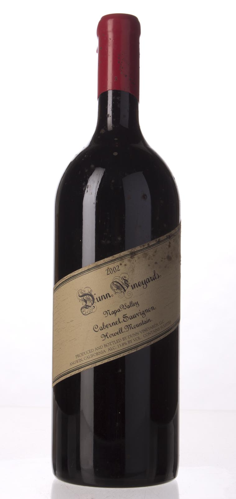 Dunn Cabernet Sauvignon Howell Mountain 2002, 1.5L (WA91-93, ST93) from The BPW - Merchants of rare and fine wines.