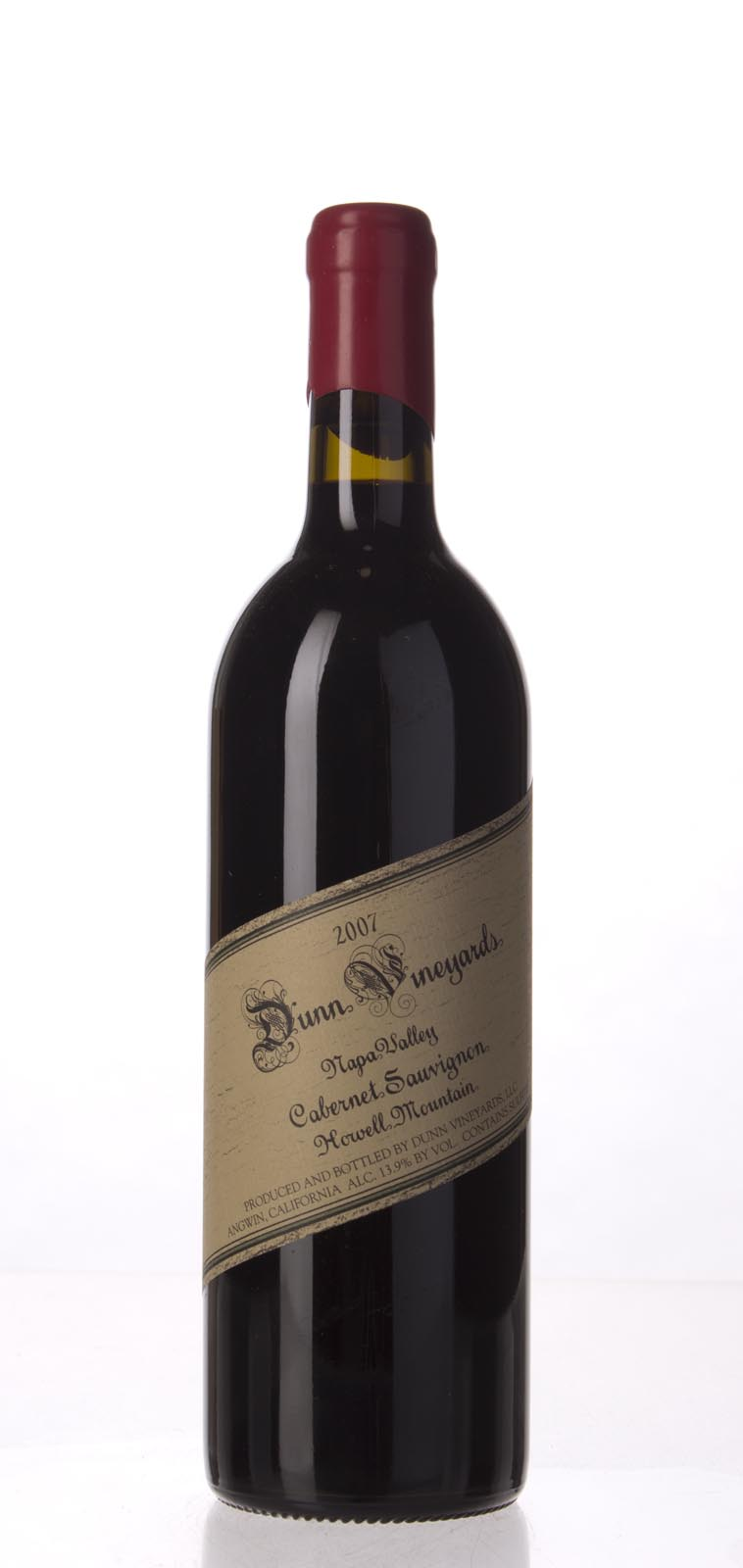 Dunn Cabernet Sauvignon Howell Mountain 2007, 750mL (WA97) from The BPW - Merchants of rare and fine wines.