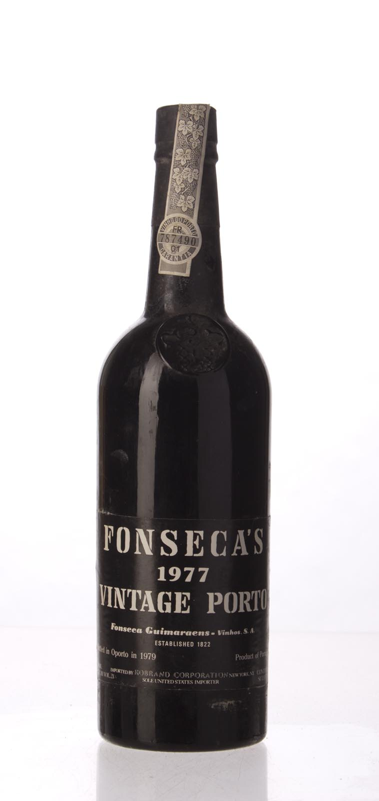 Fonseca Vintage Port 1977, 750mL (WS100) from The BPW - Merchants of rare and fine wines.